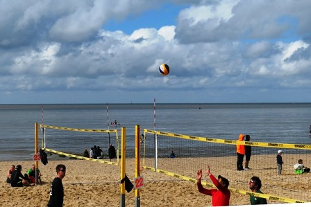 Strand Beach Volleyball Weymouth England